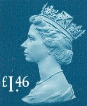 £1.46 Discount GB Postage Stamp (mixed designs) 20% off
